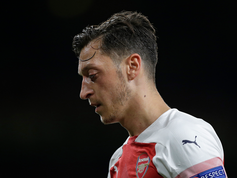 6332b5fe0ea6 Ozil the outcast: How Arsenal have thrown £19m down the drain on new  contract - with £43m still to come