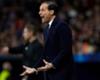 Juventus head coach Massimiliano Allegri