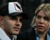 Inter striker Mauro Icardi and wife and agent Wanda Nara