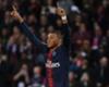 Paris Saint-Germain forward Kylian Mbappe