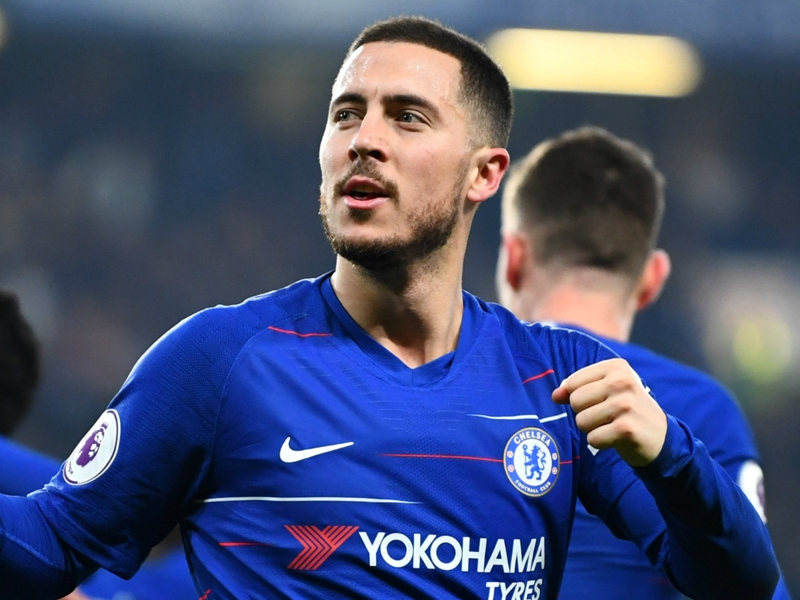 'He's never said anything about Madrid' - Willian expects Hazard to remain at Chelsea