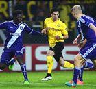Champions: Dortmund 1-1 Anderlecht