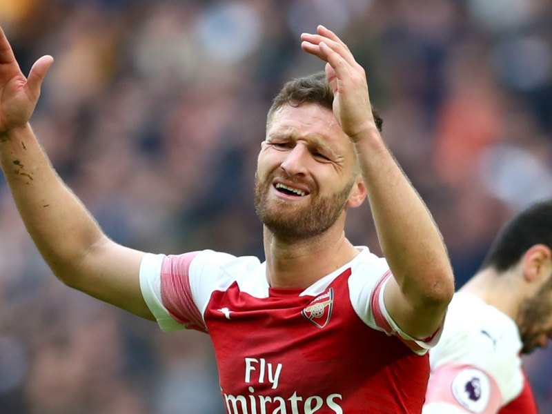 'Mustafi is the king of blunders' - Petit surprised by Arsenal defender's inclusion against Spurs