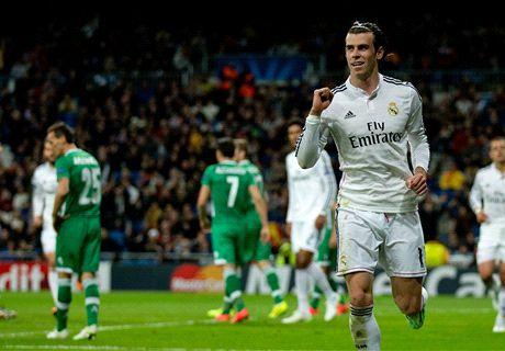 Real Madrid 4-0 Ludogorets: calificaciones