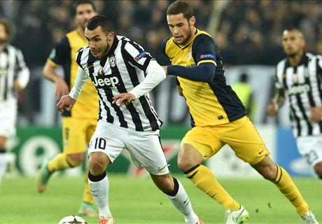 Champions: Juventus 0-0 Atlético
