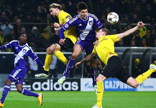 Dortmund 1-1 Anderlecht: Klopp's men secure top spot