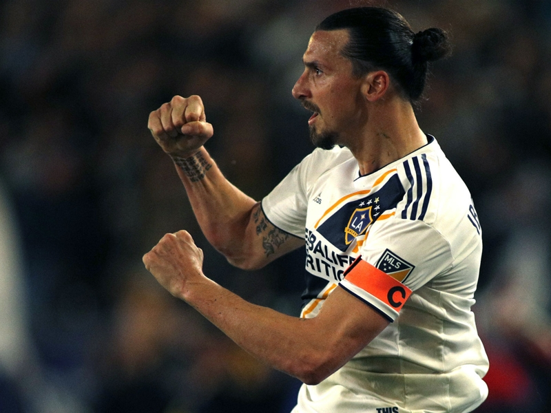 Ibrahimovic and Bradley star on MLS opening day