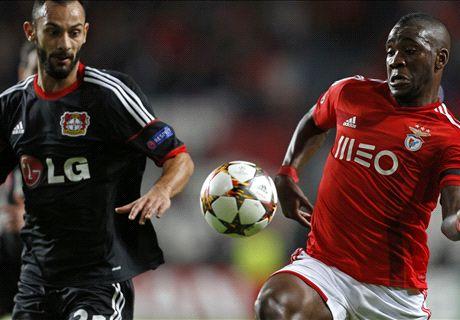 Champions: Benfica 0-0 Bayer Leverkusen