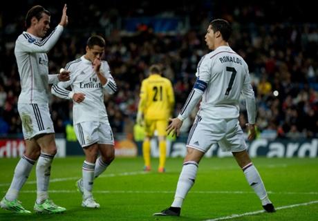 Real Madrid 4-0 Ludogorets: Six of six