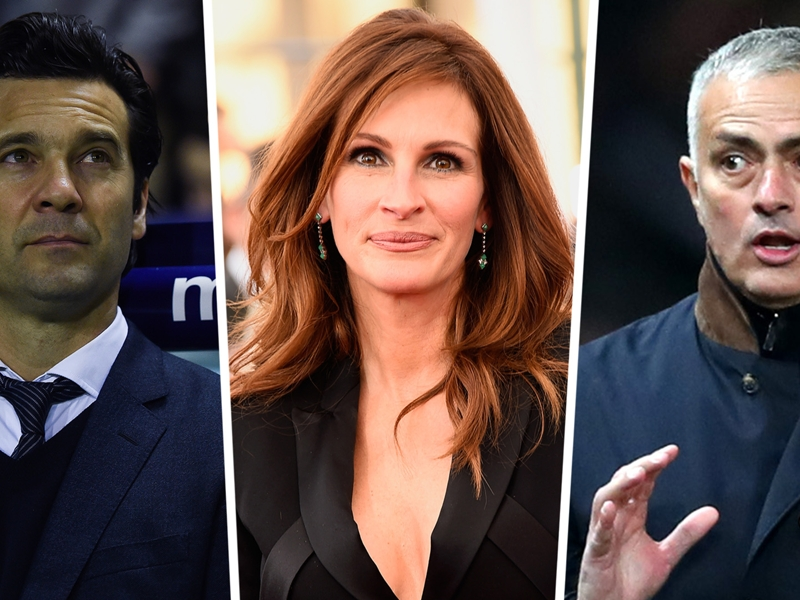 'Real Madrid have more suitors than Julia Roberts!' - Solari laughs off Mourinho links