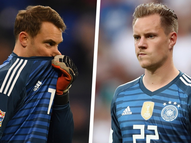 Why not Neuer? Germany axe Bayern veterans but Barcelona's Ter Stegen being left to rot