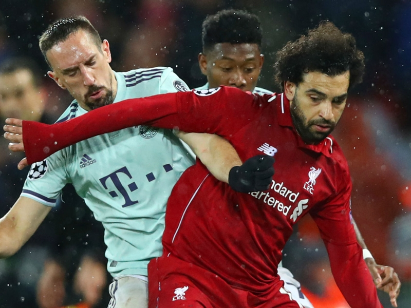 Ribery: We are Bayern and not afraid of Liverpool