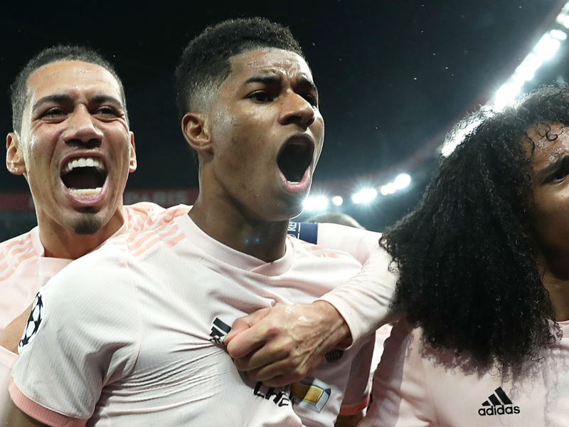 Manchester United, Marcus Rashford s'inspire d'Aguero, Cristiano Ronaldo et Rooney