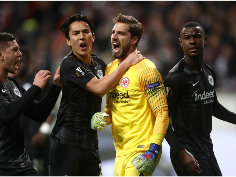 Eintracht Frankfurt 0 Inter 0: Trapp penalty save preserves parity