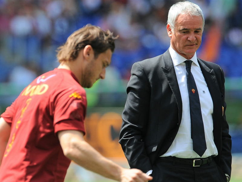 Claudio Ranieri's Roma reunion no easy job