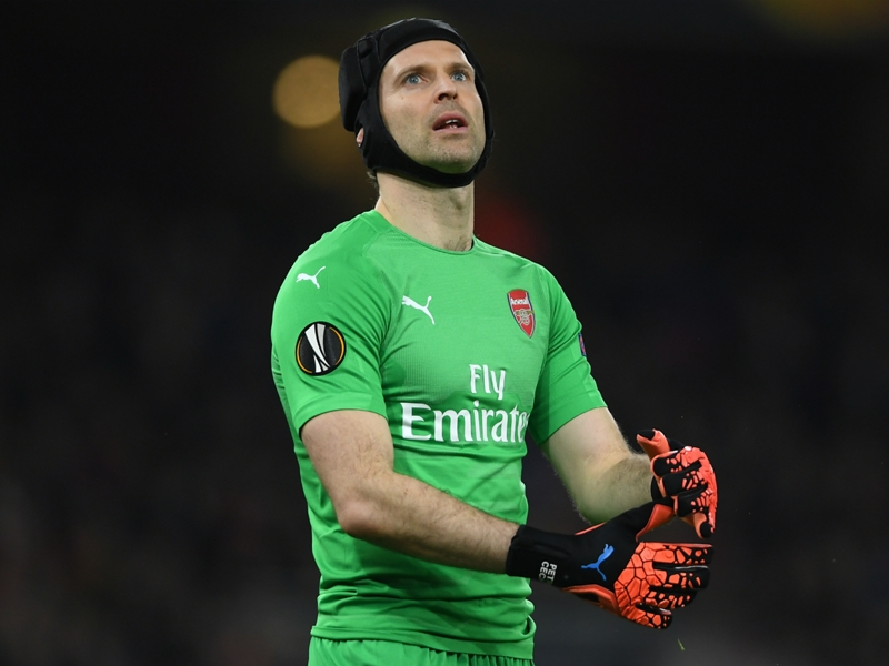 Cech admits late Sarr goal leaves Arsenal facing Europa League exit
