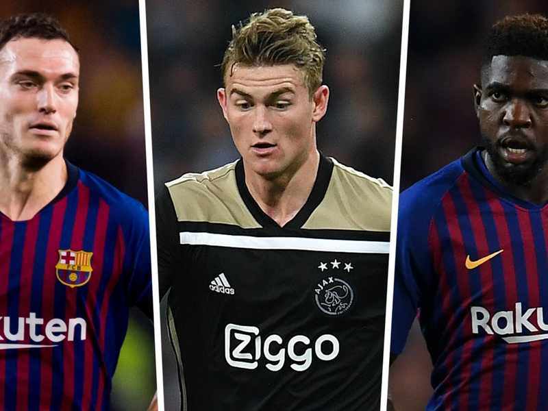 Barcelona keen on De Ligt but must offload at least three defenders