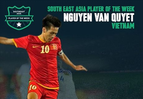Goal SEA Player of the Week: Nguyen Van Quyet