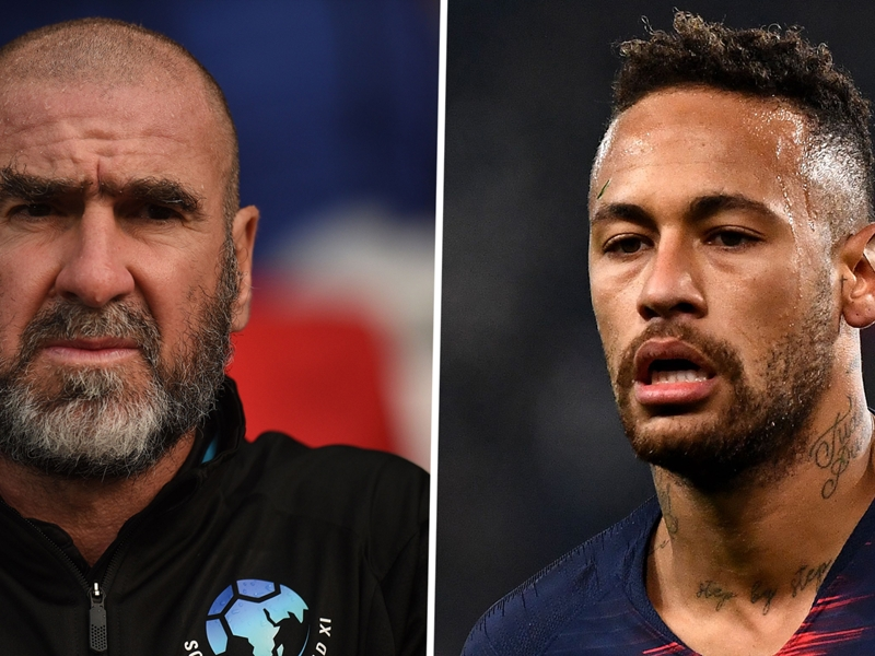 'Just like the BBQ!' - Cantona mocks Neymar on social media days after heated altercation with his dad