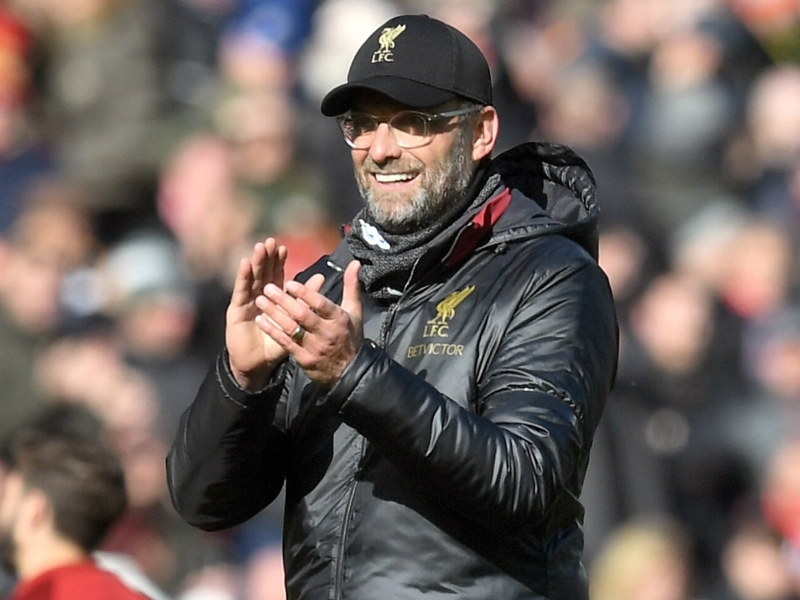 Klopp impressed with Liverpool calm after contentious Burnley goal