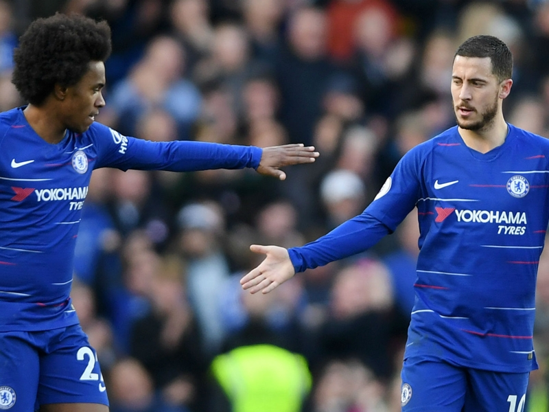 Hazard half-century sees him join Chelsea legends Lampard & Drogba in exclusive goal club
