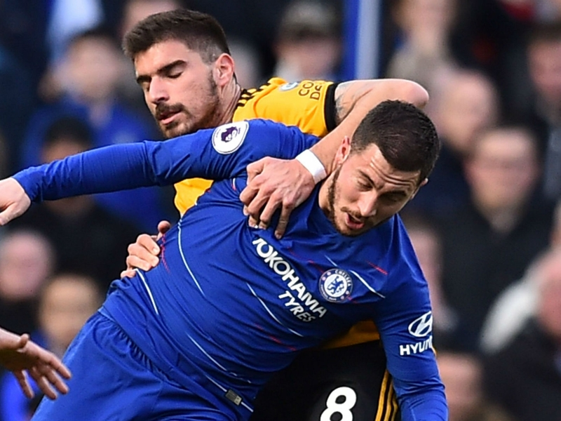 Hazard frustrated at the pace of Chelsea's game after Wolves draw