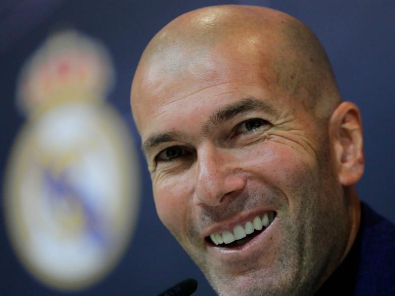 Zidane makes sensational return to Real Madrid after Solari sacking