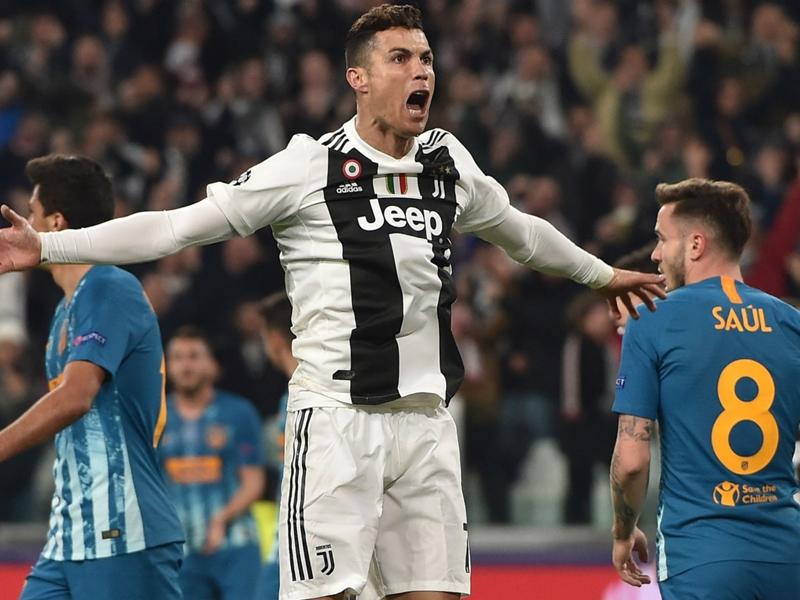 Juventus 3 Atletico Madrid 0 (3-2 agg): Ronaldo hat-trick completes comeback