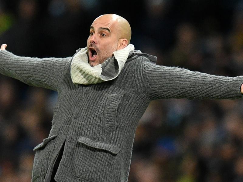 """Pep Guardiola : """"Tout le monde parlera de désastre si Manchester City ne gagne pas la Ligue des champions"""""""