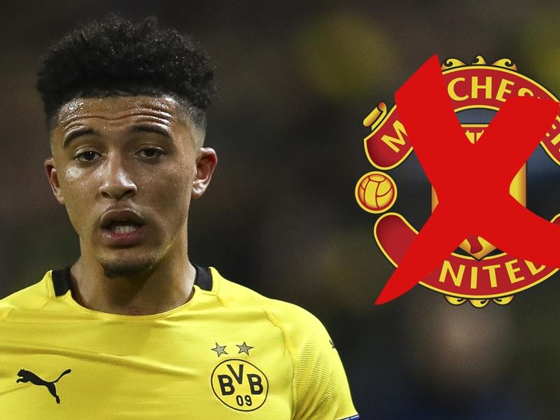 Le Borussia Dortmund prévient Manchester United que Sancho n'est pas à vendre