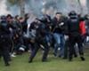 Barcelona ve Olympique Lyon taraftarları arasında kavga çıktı