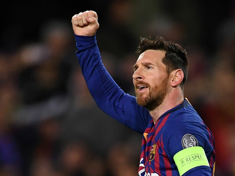 Barcelona 5 Lyon 1 (5-1 agg): Messi shines as LaLiga giants move into quarter-finals