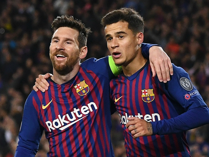 'Great' showing from under-fire Coutinho pleases Barca boss Valverde