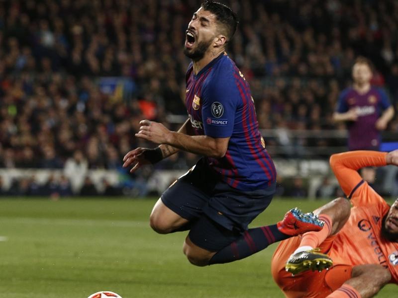 رسميًا - برشلونة يعلن عن مدة غياب سواريز عن الملاعب