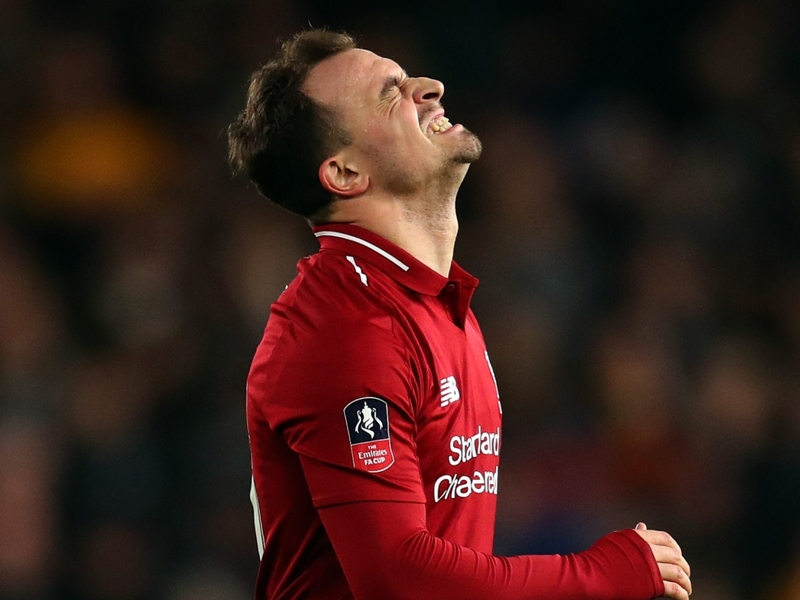 Two starts and no goals in 2019 - what has happened to Shaqiri?