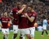 Javier Hernandez celebrates for West Ham