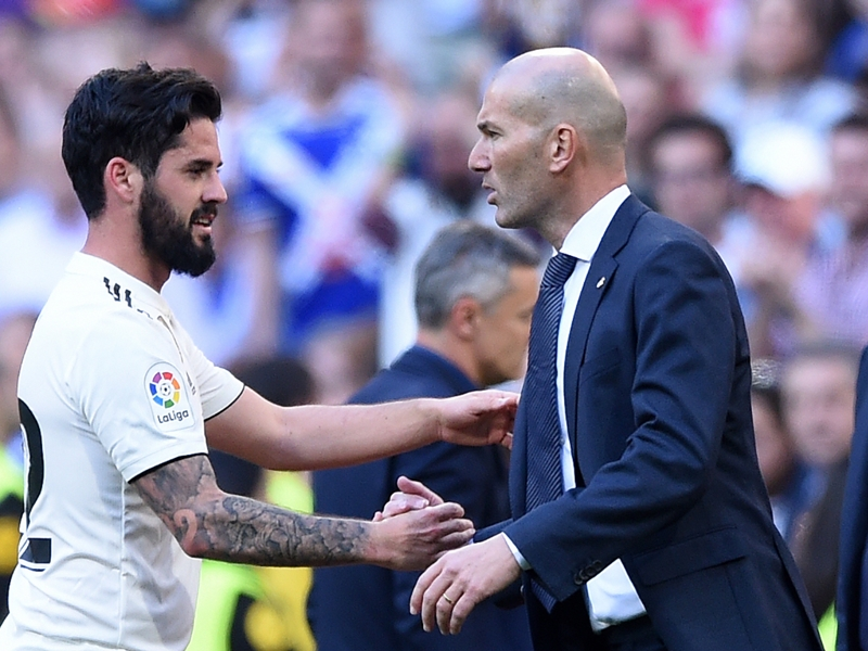 Zidane promises key role for exiled Real Madrid stars Isco and Marcelo