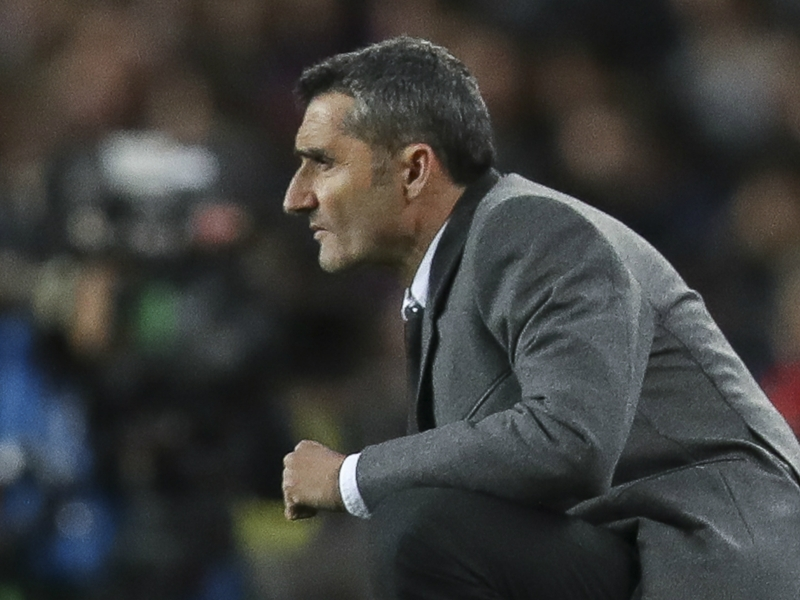 Valverde: Manchester United tie an attractive but difficult one for Barcelona