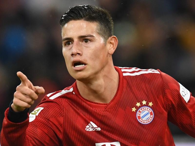 Bundesliga - Le Bayern et James faciles contre Mayence (6-0)