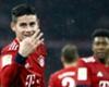 James Rodriguez coştu, Bayern Münih farka koştu: 6-0