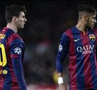 Neymar, humilde ante Messi y CR7