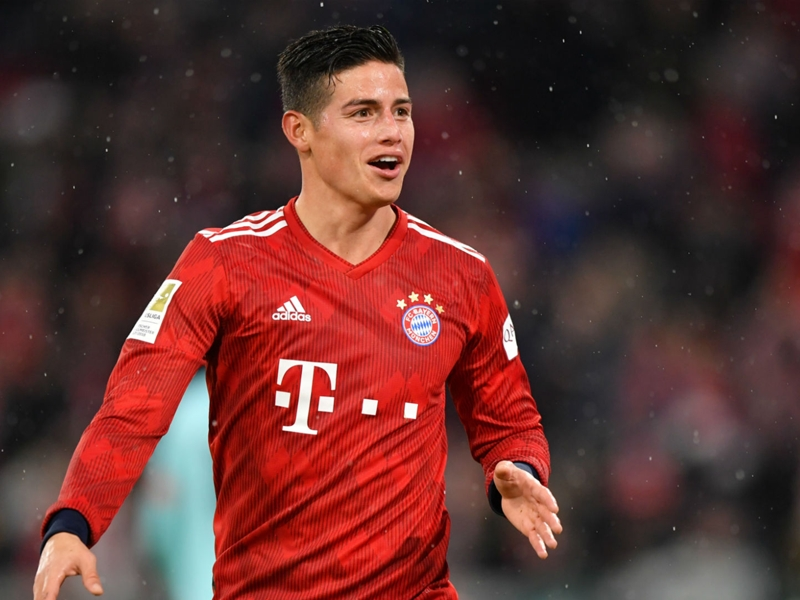 'I am happy here' – James expects Bayern Munich and Real Madrid to open transfer talks