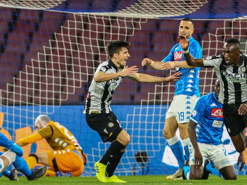 Troost-Ekong motivates Udinese after 'disappointing' Napoli defeat