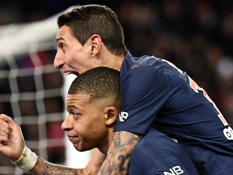PSG have two aliens in Mbappe and Di Maria - Marseille boss Garcia