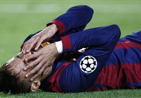 Neymar out of Getafe clash