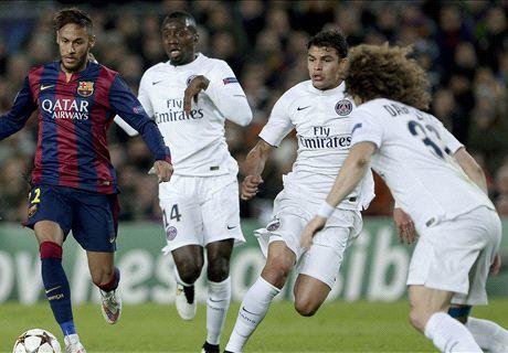 PSG, David Luiz, Thiago Silva, Thiago Motta et Cavani sur le banc des accusés