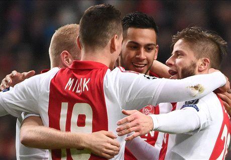 Champions: Ajax 4-0 APOEL