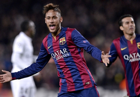 Neymar: Mudah Main Di Barca