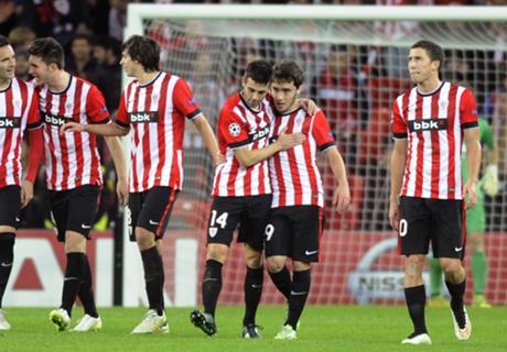 Athletic Bilbao 2-0 BATE: Bilbao into EL