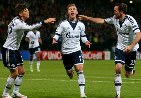 Max Meyer y el Schalke, rivales del Real Madrid